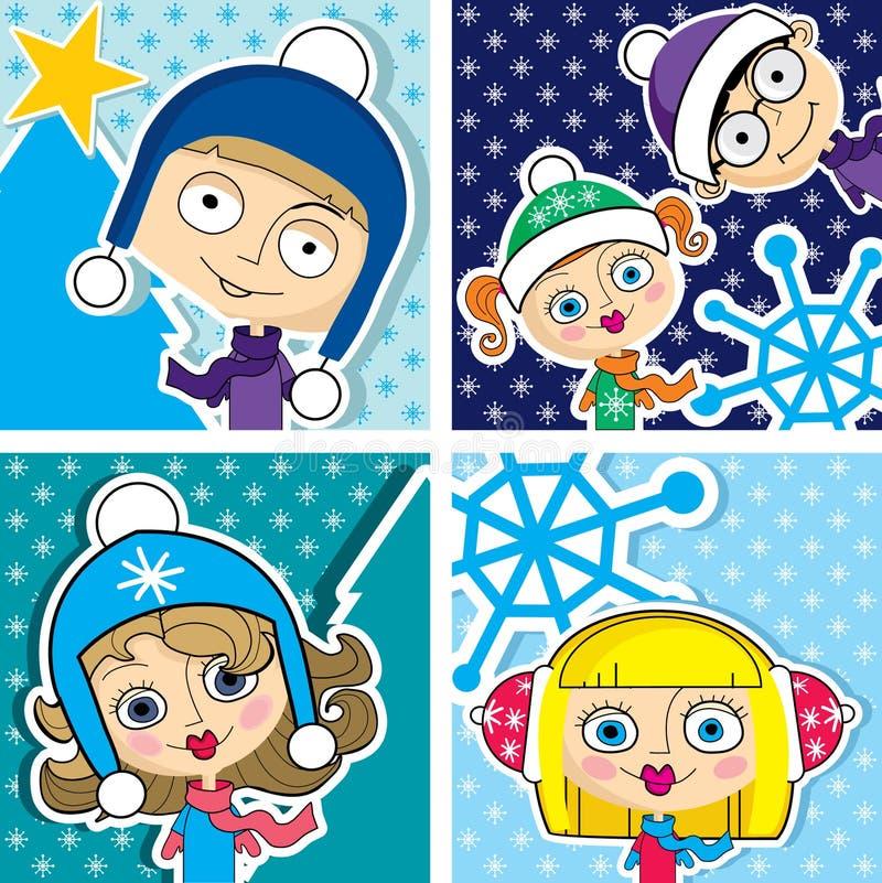 Christmas Kid Stock Photo