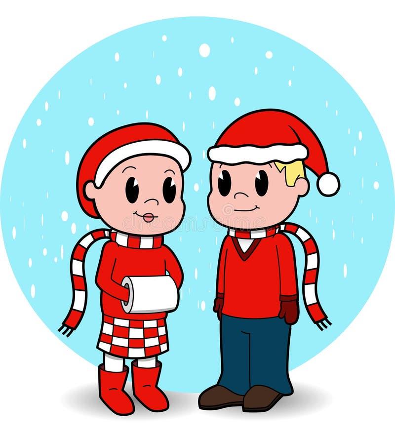 Download Christmas Kids stock vector. Illustration of male, christmas - 17272169