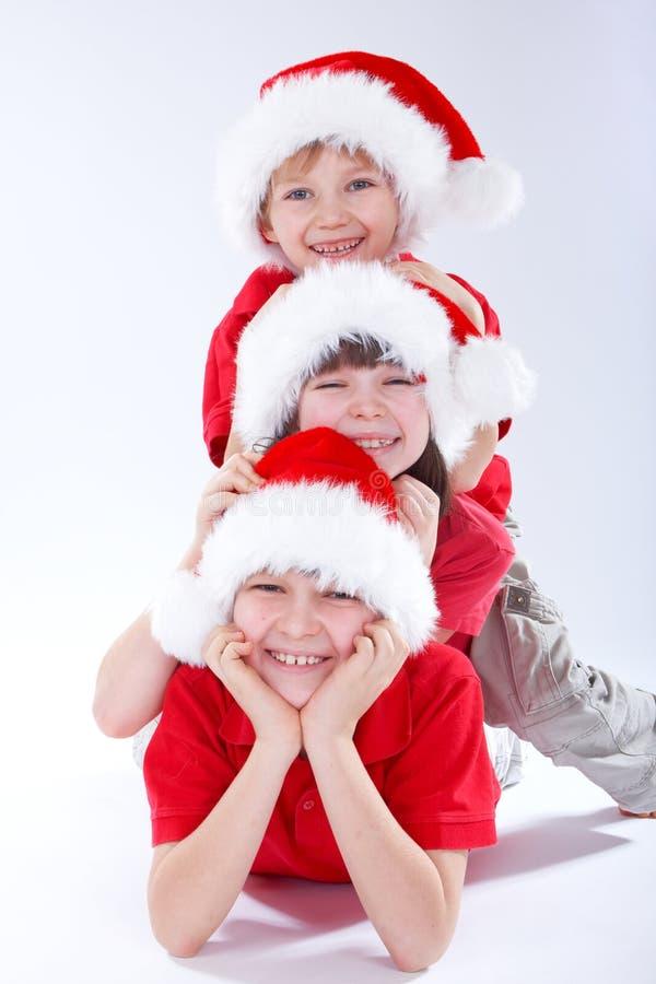 Christmas Kids Royalty Free Stock Photography