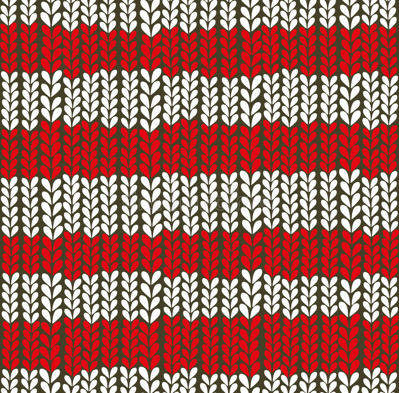 Download Christmas Knitted Background. Stock Vector - Illustration: 34731288