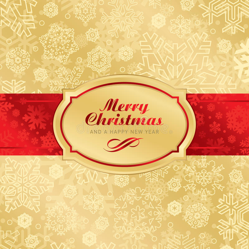 Free Christmas Label Background (vector) Stock Photos - 17270583
