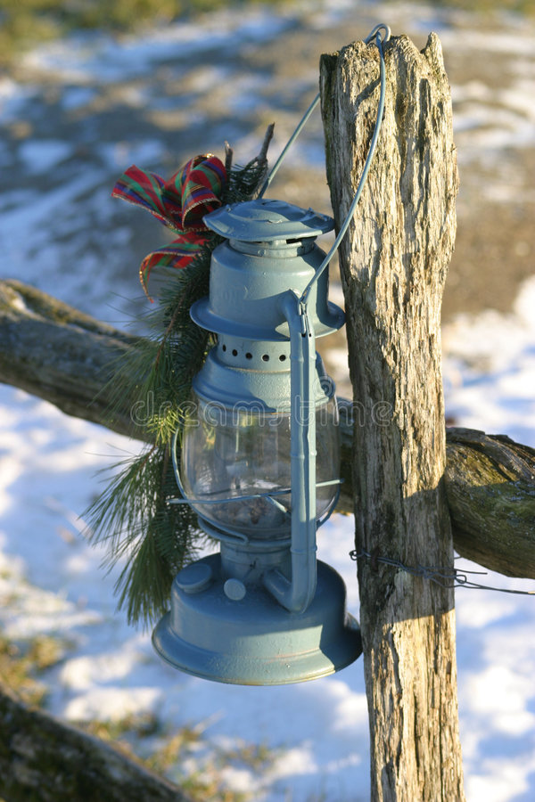 Christmas Lamp II stock photography