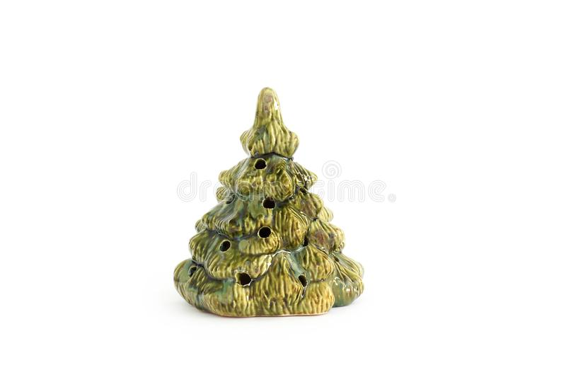 Christmas lamp on a white background. royalty free stock images