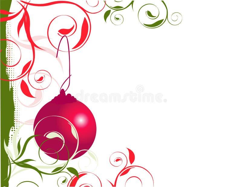 Christmas Left Border royalty free stock photos