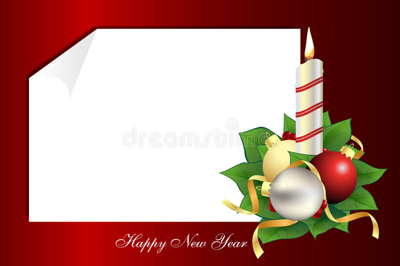 A Christmas Letter Royalty Free Stock Photos