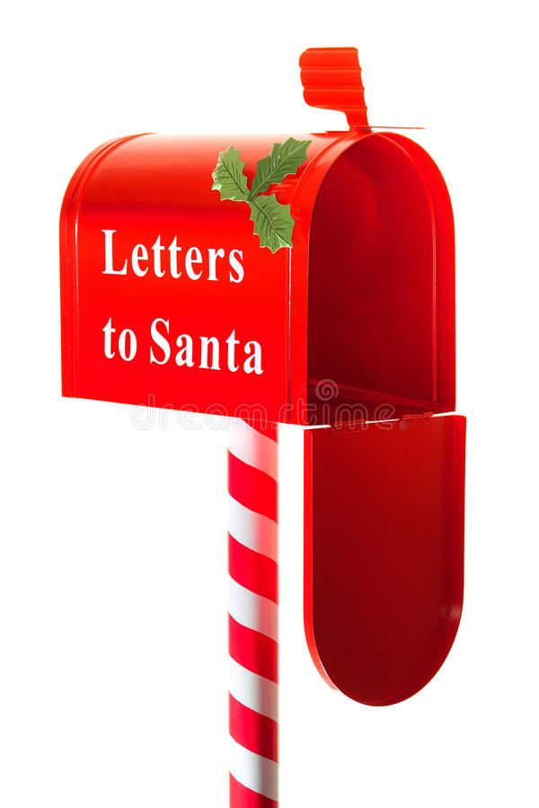 Download Christmas Letter Box To Santa Stock Image - Image of message, gift: 22134059