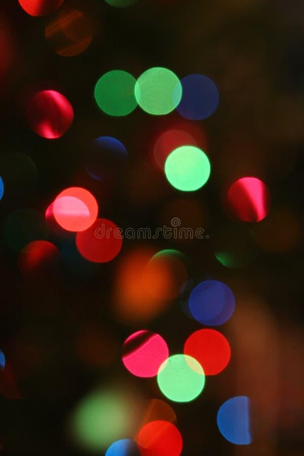 Free Christmas Light Background Royalty Free Stock Image - 1487716