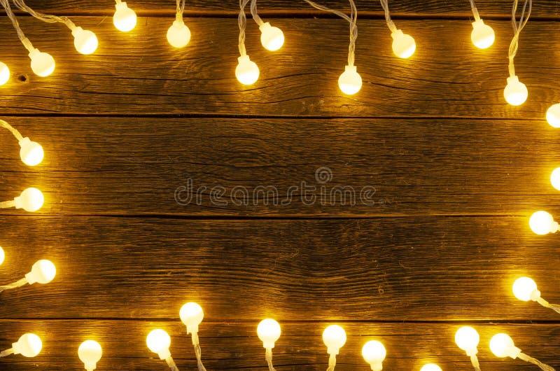 Christmas light background. big lights. Christmas gerland. Christmas light background. big lights Christmas royalty free stock image