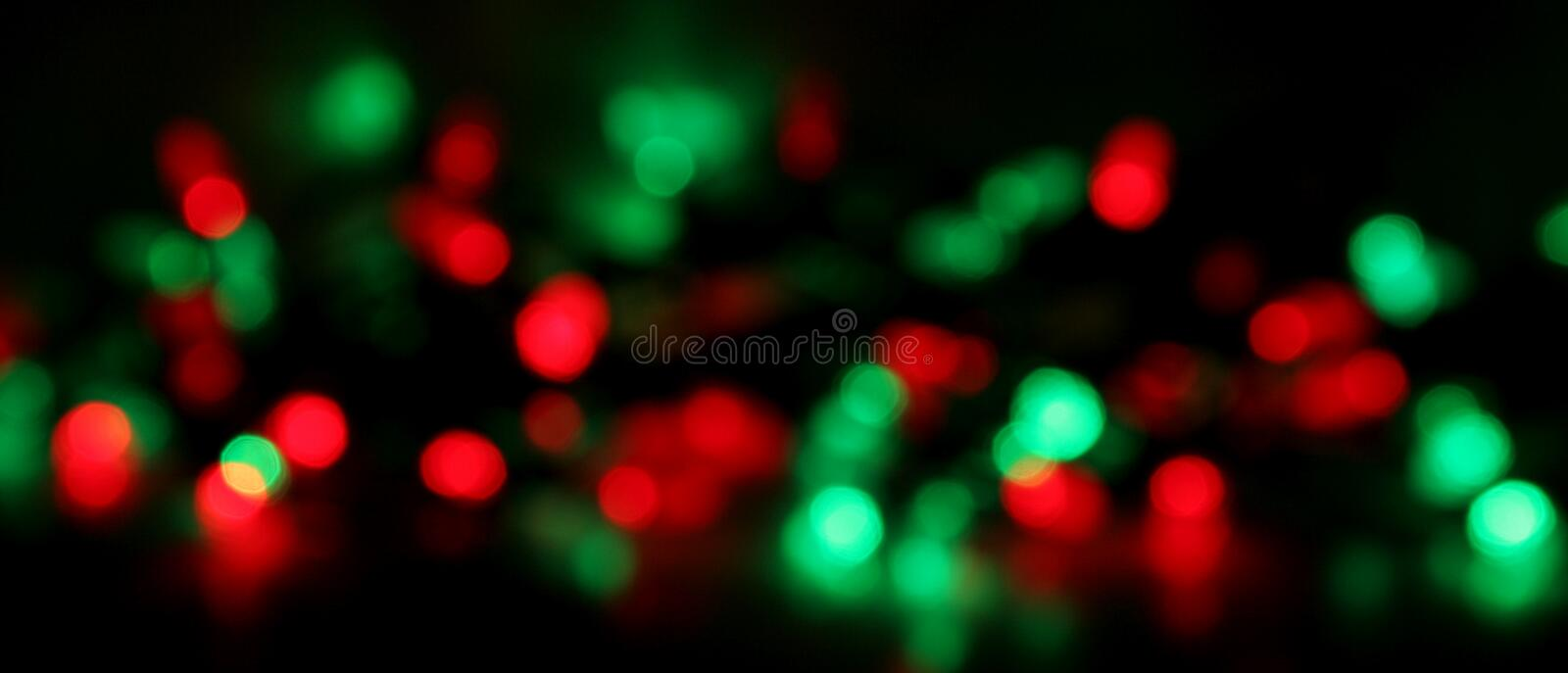 Christmas Light Blur Background Royalty Free Stock Images