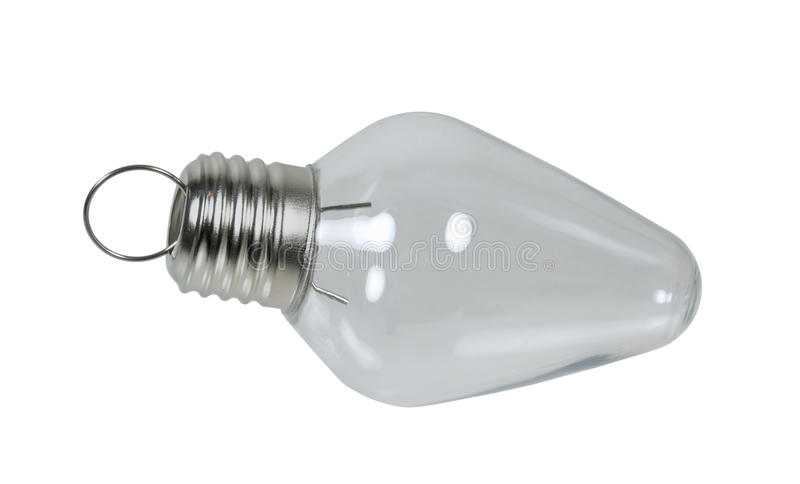 Christmas Light Bulb royalty free stock photography