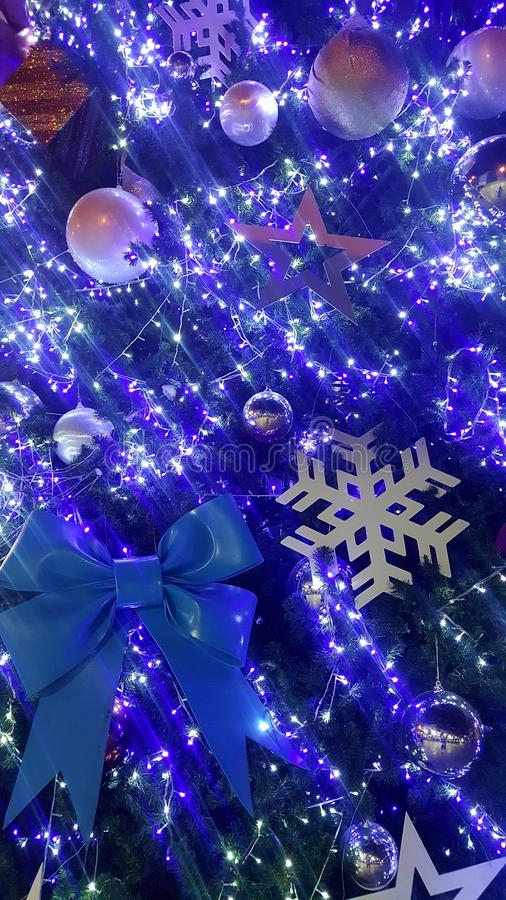 christmas light is very nice and happy time stock images