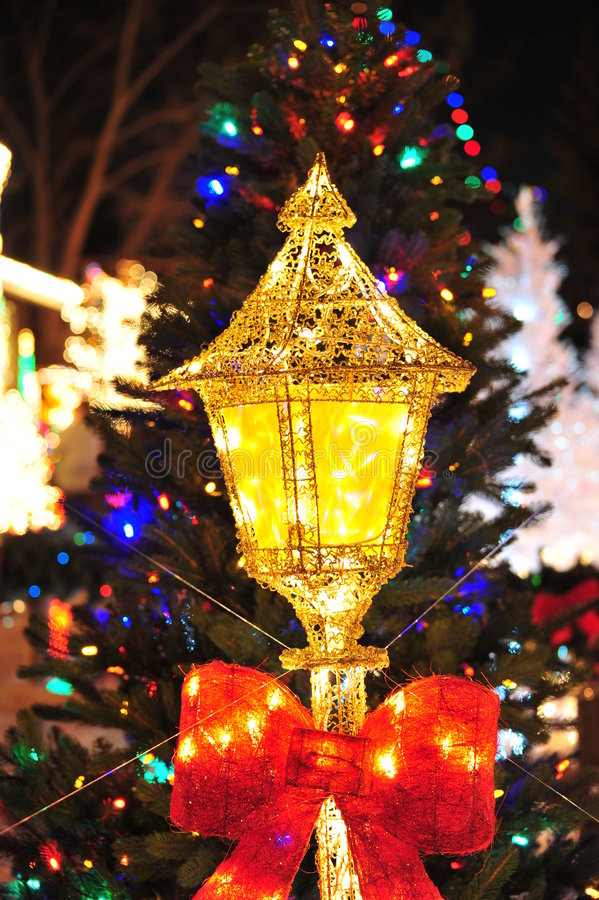 Download Christmas lighting stock image. Image of blurry, christmas - 7331837