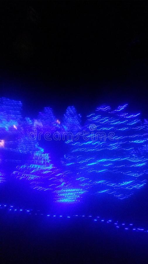 Christmas lighting royalty free stock photography