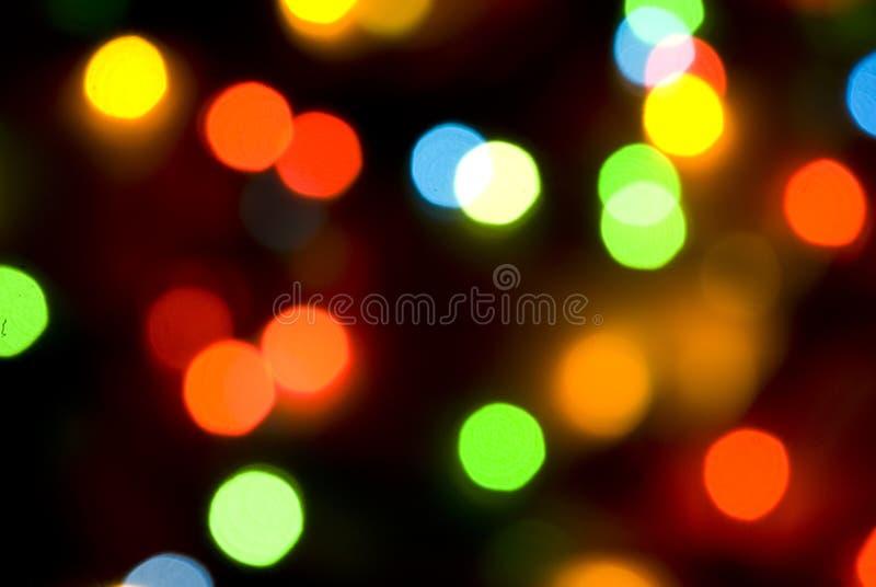 Christmas lights. Colorful lights for Christmas background royalty free stock photo