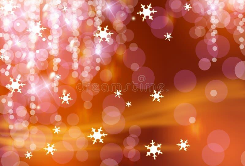 Christmas lights. Twinkling lights of Christmas night royalty free stock photos