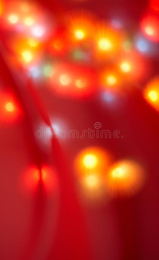 Download Christmas lights stock image. Image of bokeh, blur, curtain - 21048003