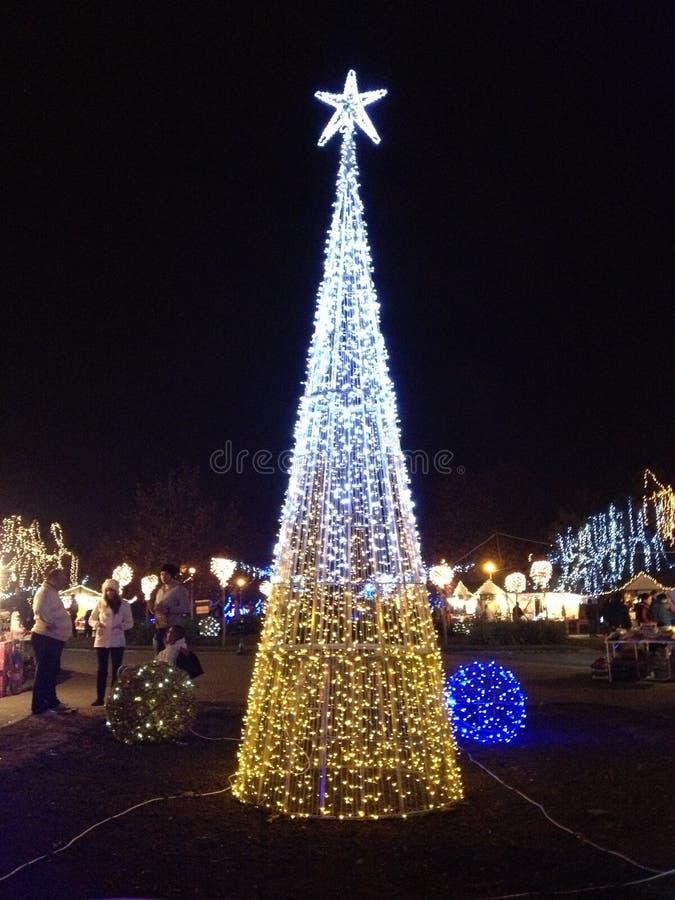Download Christmas lights editorial image. Image of star, romania - 22341750