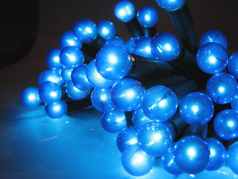 Christmas lights 3 stock photo