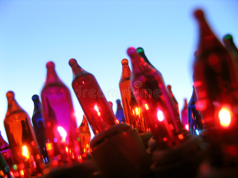 Download Christmas lights stock photo. Image of macro, objects, orange - 52742