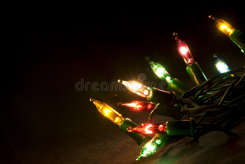 Download Christmas lights stock photo. Image of details, closeup - 6919834