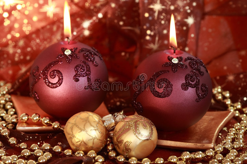 Christmas lights royalty free stock photography