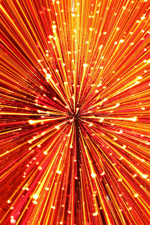 Christmas Lights Abstract. Of fairy lights royalty free stock photo