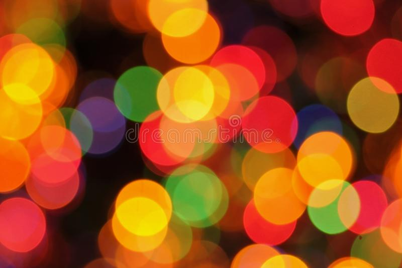 Christmas lights background stock photos