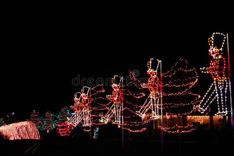 Christmas Lights - Toy Soldiers Marching