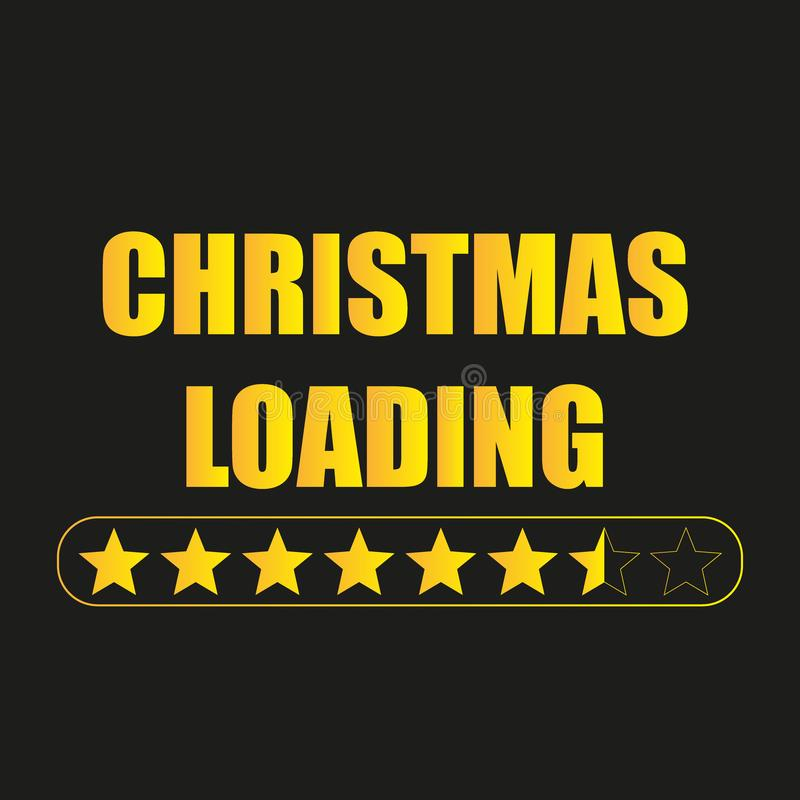 Christmas loading. Web background. Holiday background. Christmas loading. Web background. Vector illustration. Celebrate background. Holiday christmas vector illustration