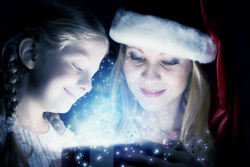 christmas magic στοκ φωτογραφίες με δικαίωμα ελεύθερης χρήσης