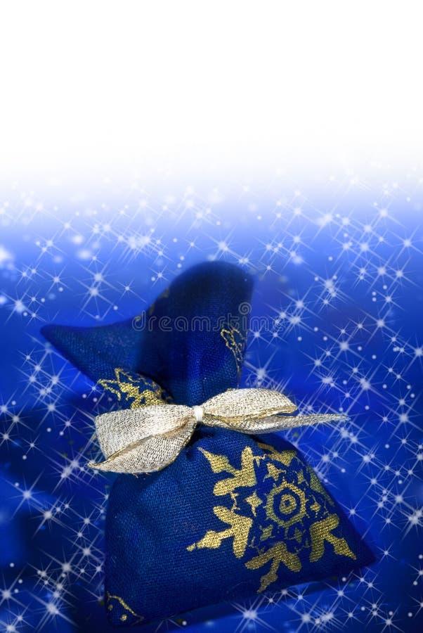 Christmas magic gift stock photos