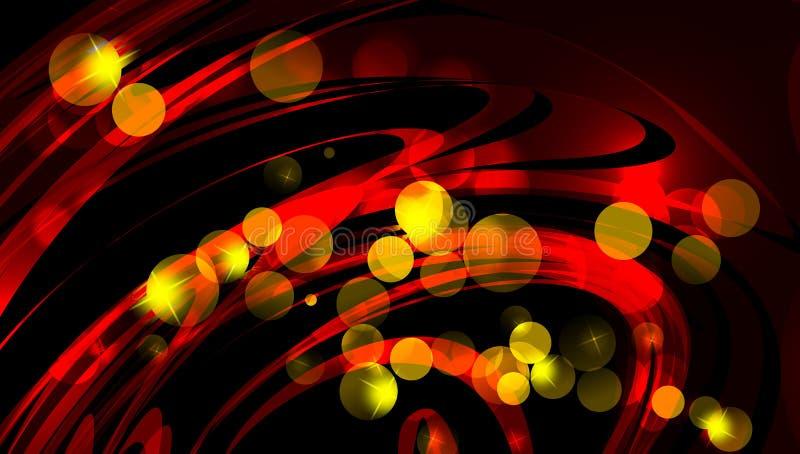 Christmas magic sparkle, light dots, vector bokeh effect on glitter. background wallpaper. royalty free illustration