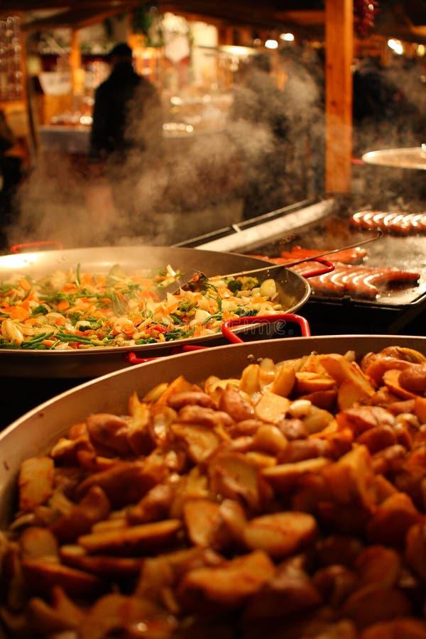 Download Christmas Market stock photo. Image of pork, food, fragrance - 12164094