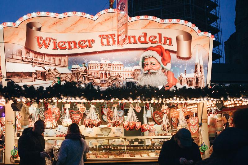 Christmas market in Berlin. royalty free stock photography