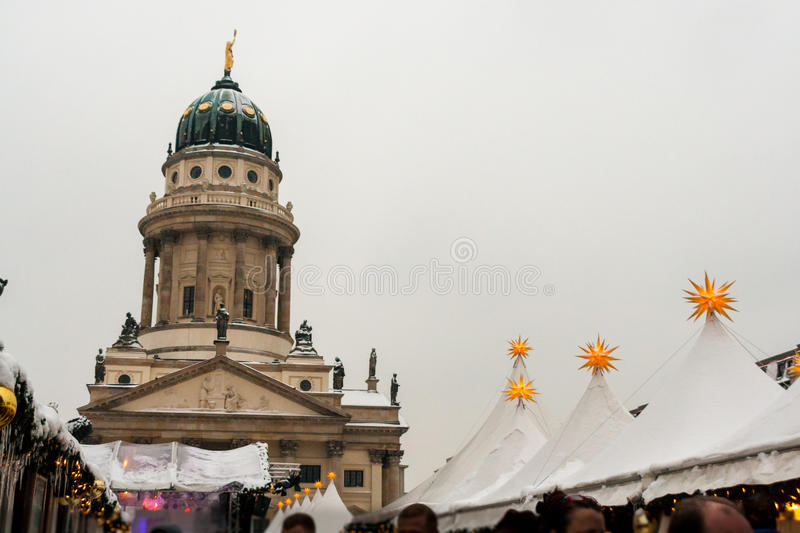 Christmas market in Berlin, Germany. Berln, Germany - December 17, 2010: Christmas market in center of Berlin, Germany stock images