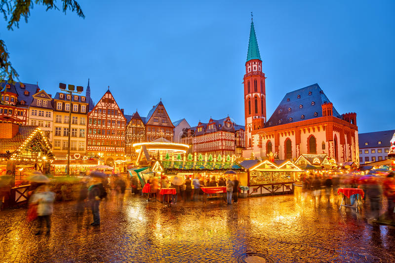 Download Christmas Market In Frankfurt Editorial Stock Photo - Image: 35133793