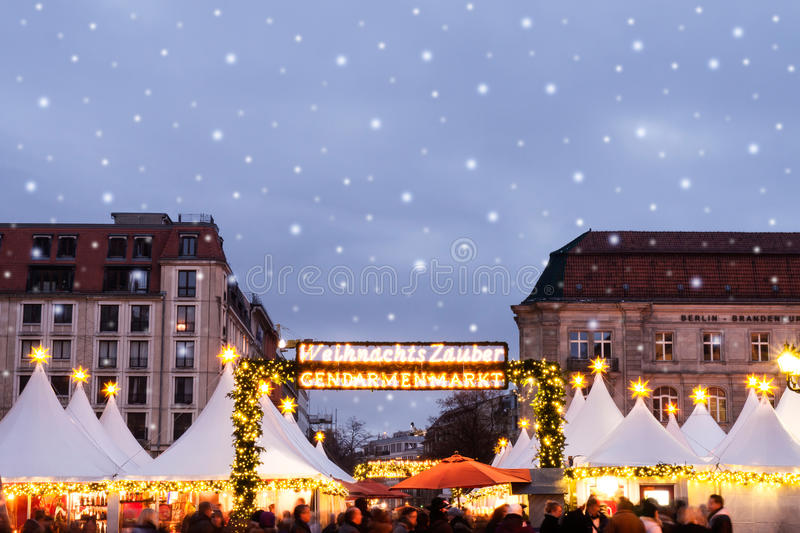 Download Christmas market stock photo. Image of holiday, famous - 31313256