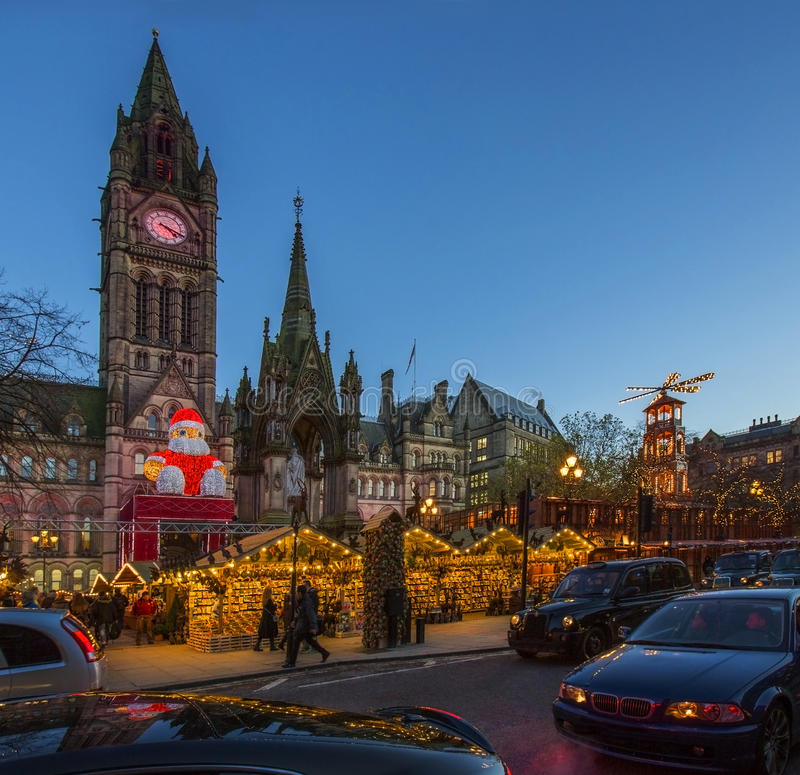 Christmas Market - Manchester - England