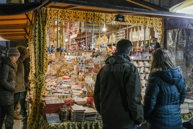 Christmas market, november 2016 royalty free stock photos