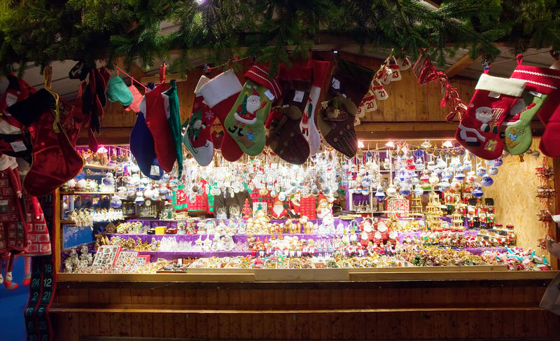 Christmas market in Vienna, Austria stock photography