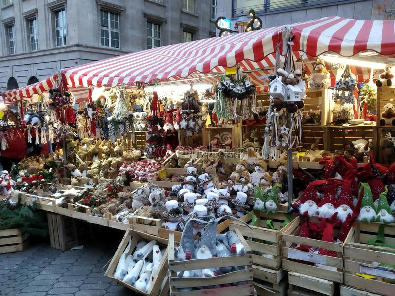 Christmas markets of Nurnberg, Germany. Magical places. The beautiful Christmas markets of Nurnberg, Germany stock photos