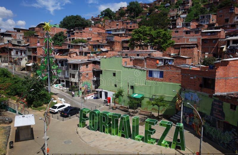 Christmas in Medellin stock photos