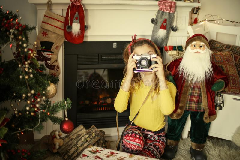Christmas memories stock photo