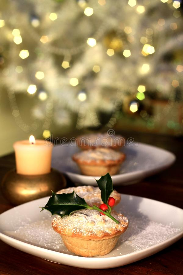 Christmas mince-pie no people stock photo stock images