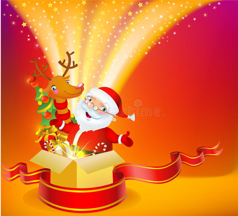 Download Christmas miracle stock vector. Image of illustration - 11619552