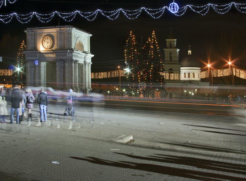 Christmas Moldova stock photo