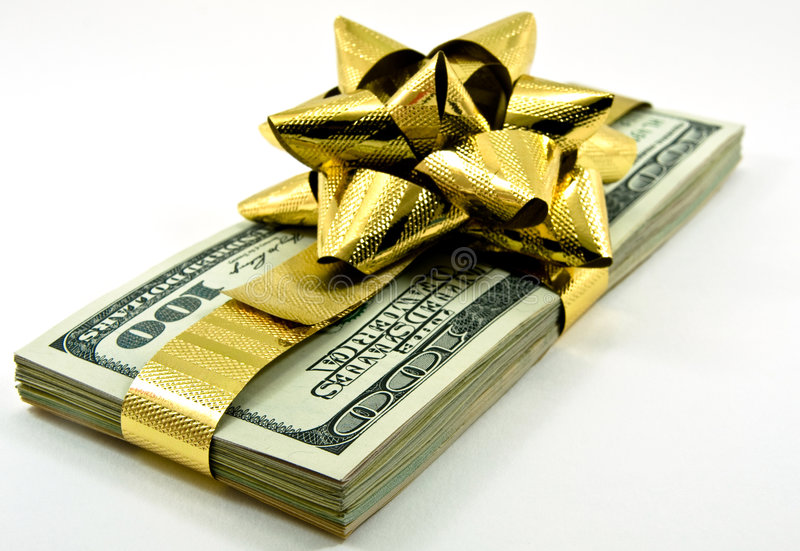 Christmas Money Royalty Free Stock Images