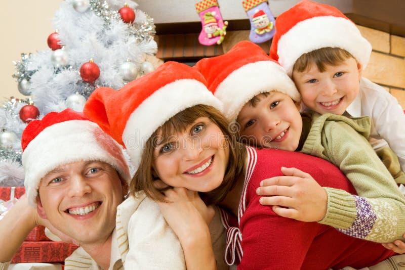 Download Christmas mood stock photo. Image of joyful, people, pretty - 11954466