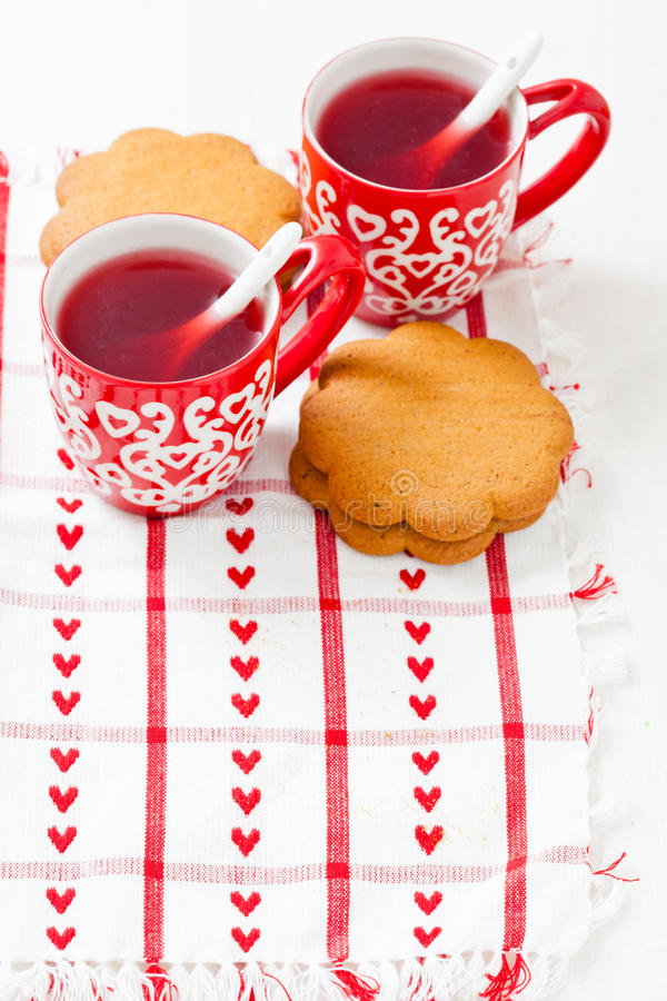 Download Christmas Mulled Wine And Gingerbread Stock Image - Image: 28073667