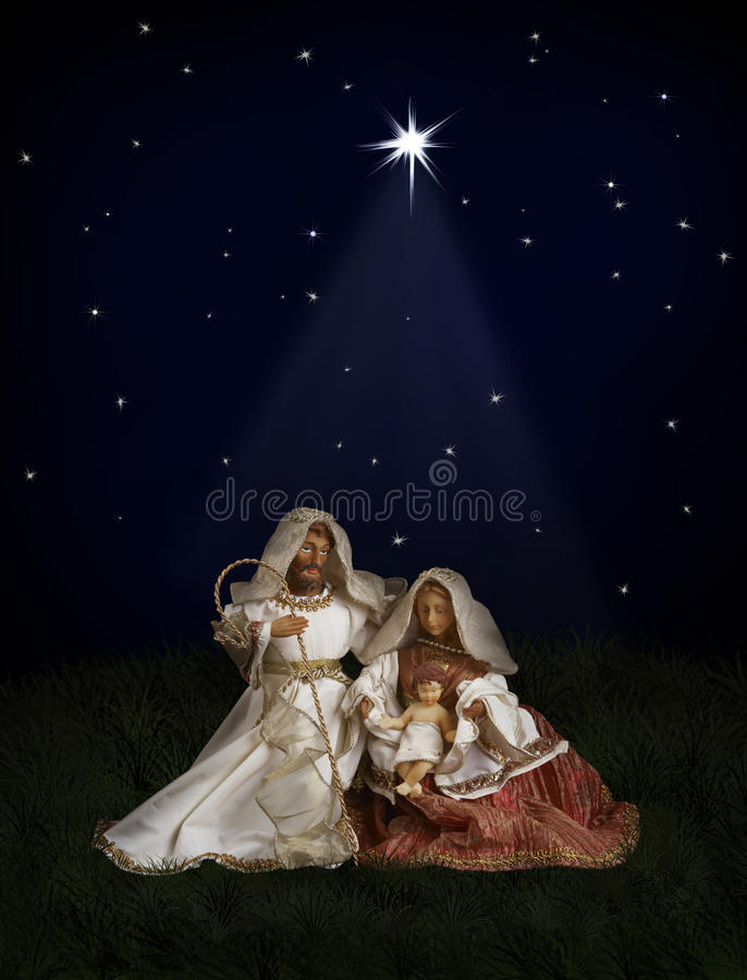 Download Christmas Nativity stock image. Image of star, christianity - 12146329